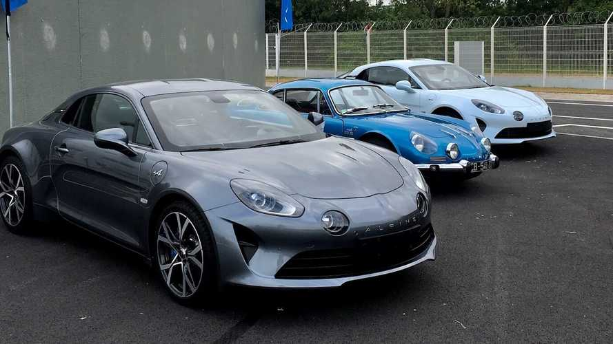 Past, present and future at Alpine's Dieppe factory