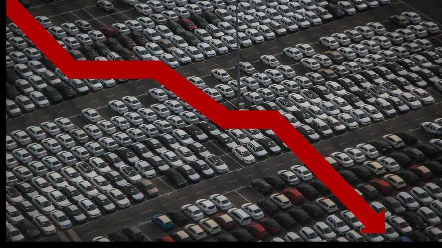 Immatricolazioni auto, si va verso un crollo totale