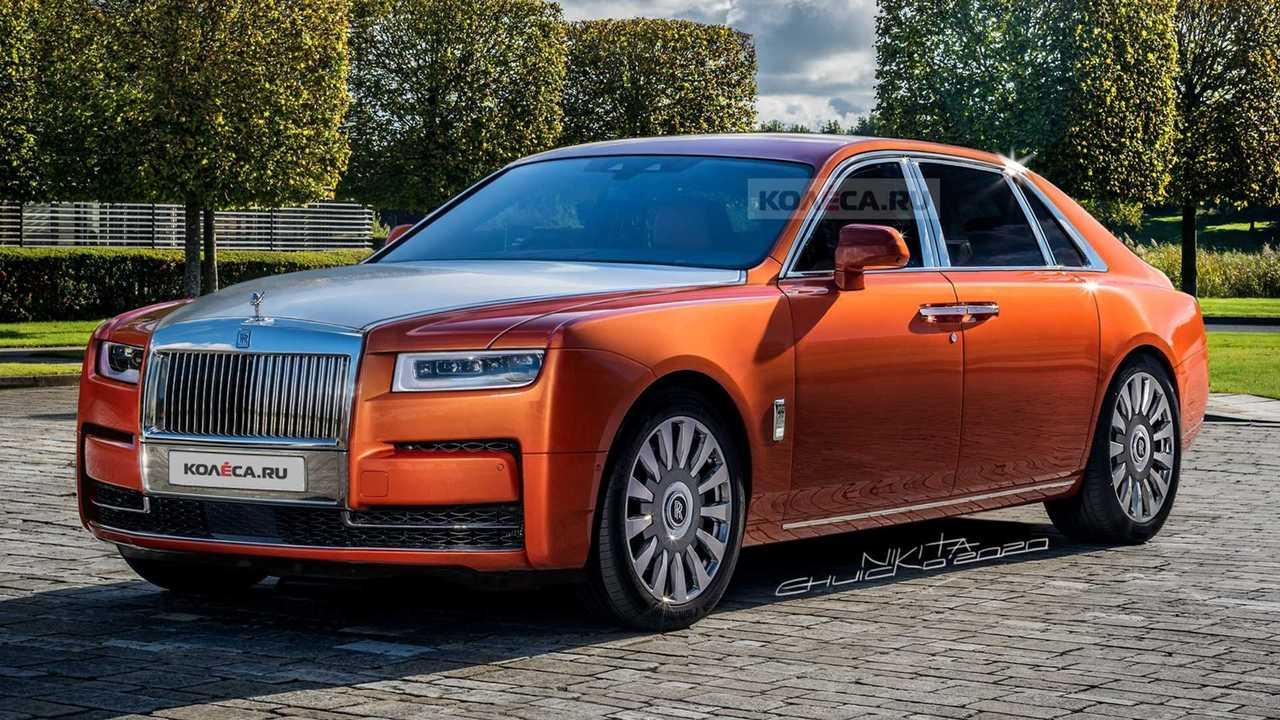 2021 Rolls-Royce Ghost rendering