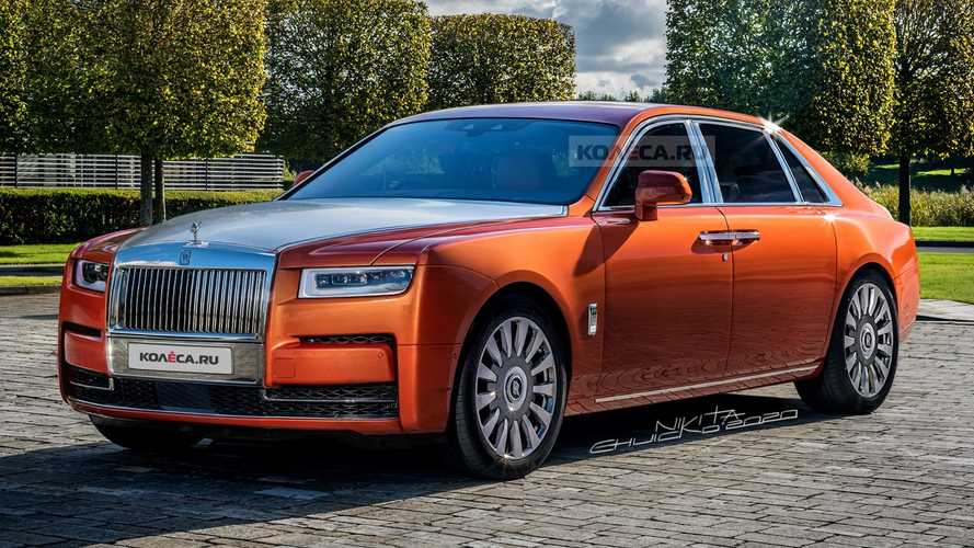 2021 Rolls-Royce Ghost renderings