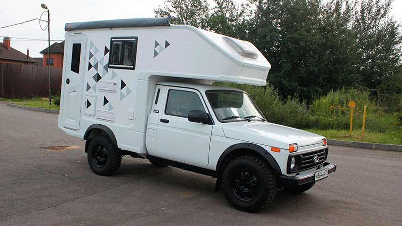 Russische Firma macht den Lada 10x10 zum coolen Wohnmobil