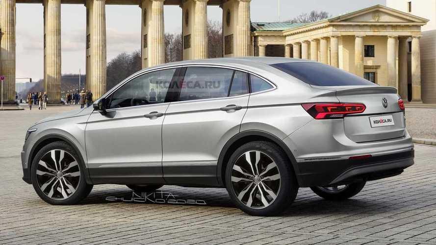 Volkswagen'in Çin'e özel coupe-SUV'si böyle görünecek