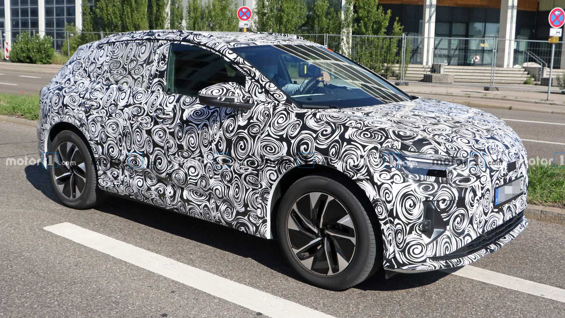 2021 Audi Q4 E-Tron Spied For The First Time With Production Body