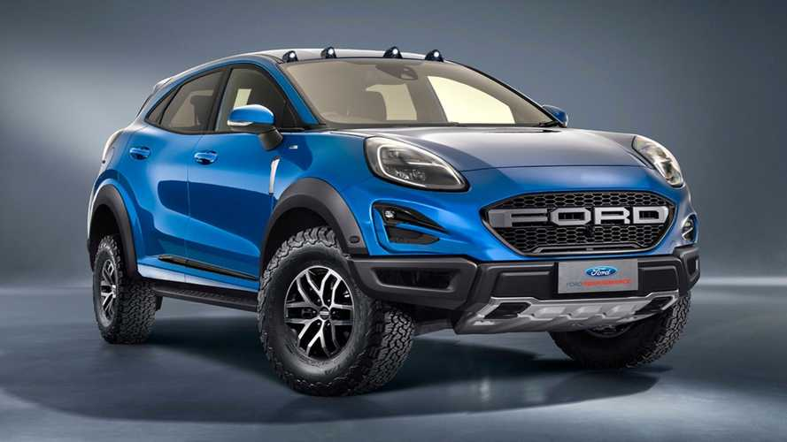 Ford Puma Raptor Rendered To Tackle The Urban Jungle