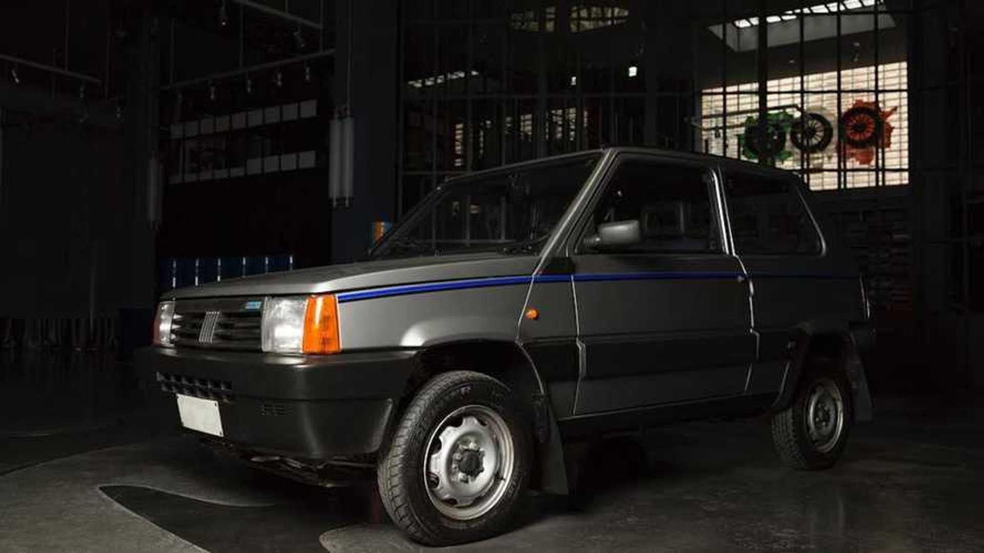 Fiat Panda 4x4 Restored Better Than New