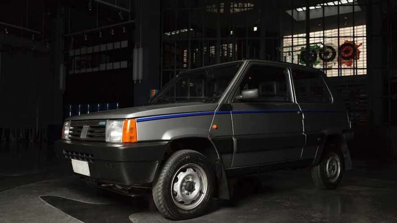 Fiat Panda 4x4 Garage Italia restaurado