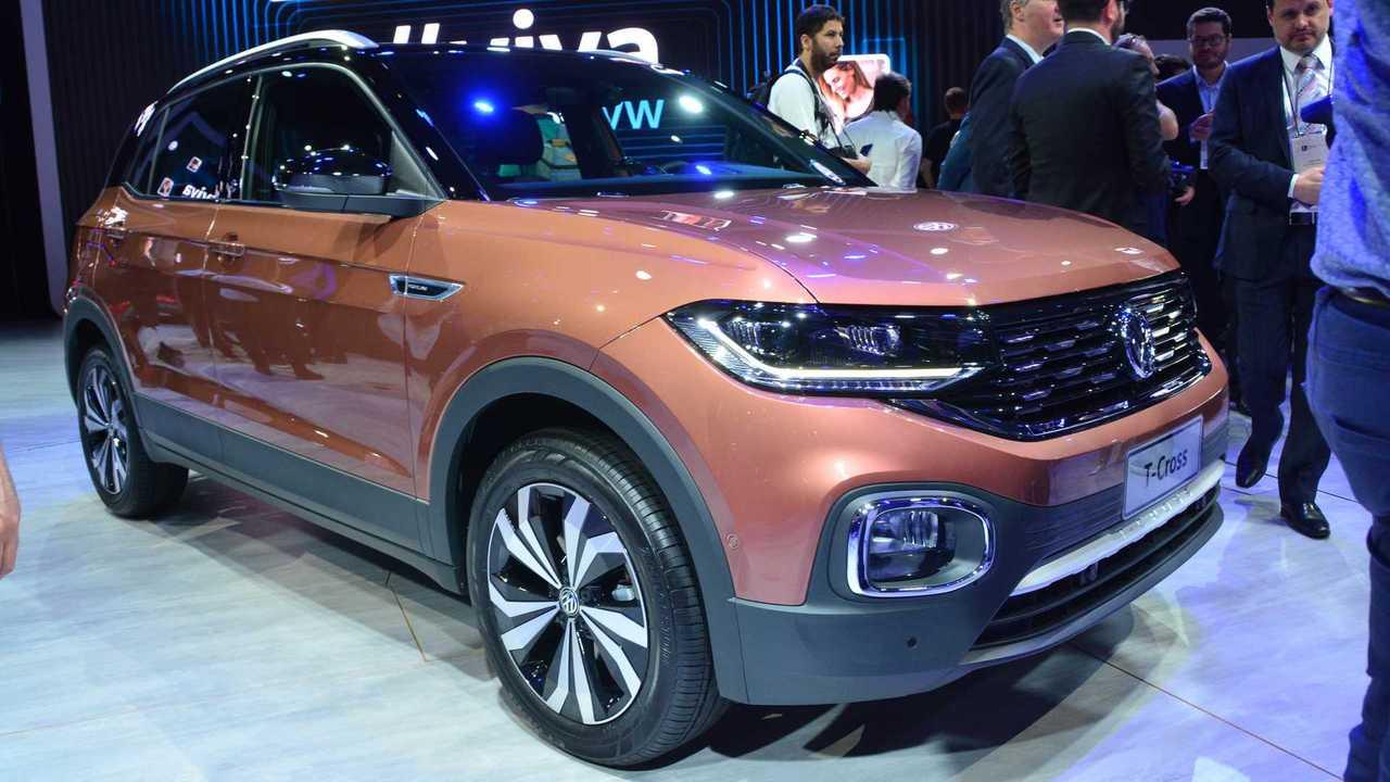 Volkswagen T-Cross - Salão de SP 2018