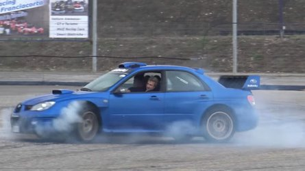 800-HP Subaru Impreza With Sequential Gearbox Sounds Amazing