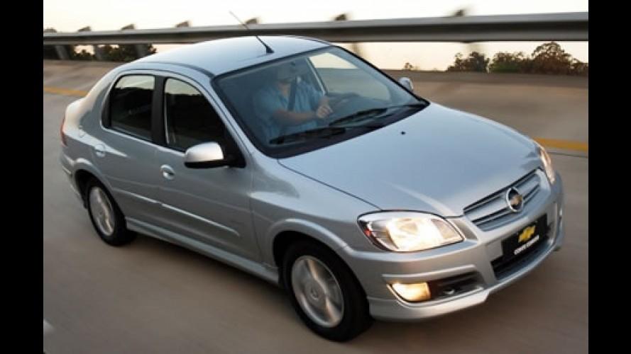 Chevrolet Prisma faz sucesso entre os 1.4