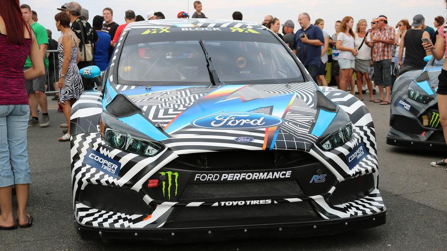 60 millió forintért kelt el Ken Block Ford Focus RS-e