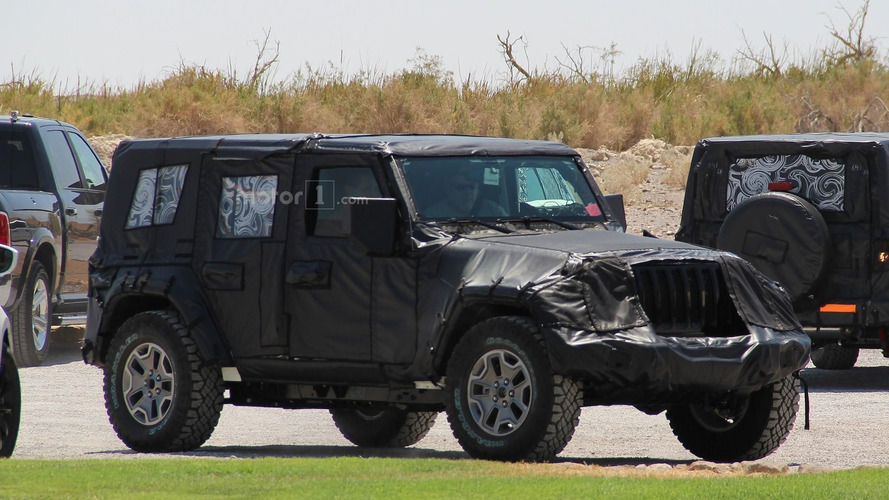 2018 Jeep Wrangler, Los Angeles yolcusu mu?