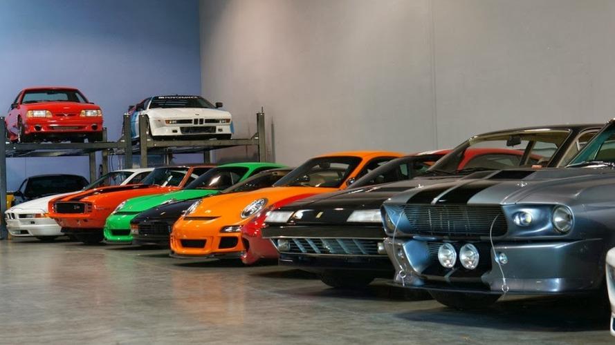 Paul Walker'ın efsane garajına bir göz atalım