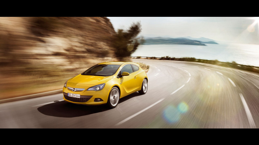 Nuova Opel Astra GTC