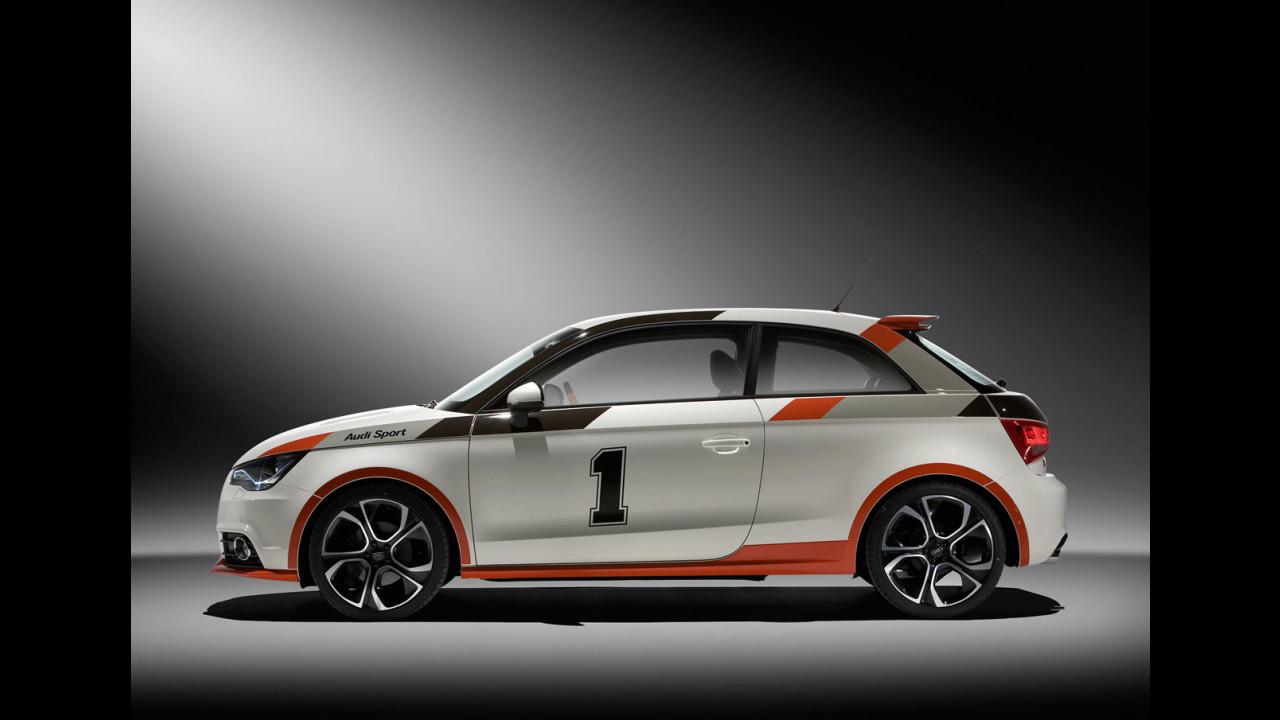 Audi A1 competition kit show car