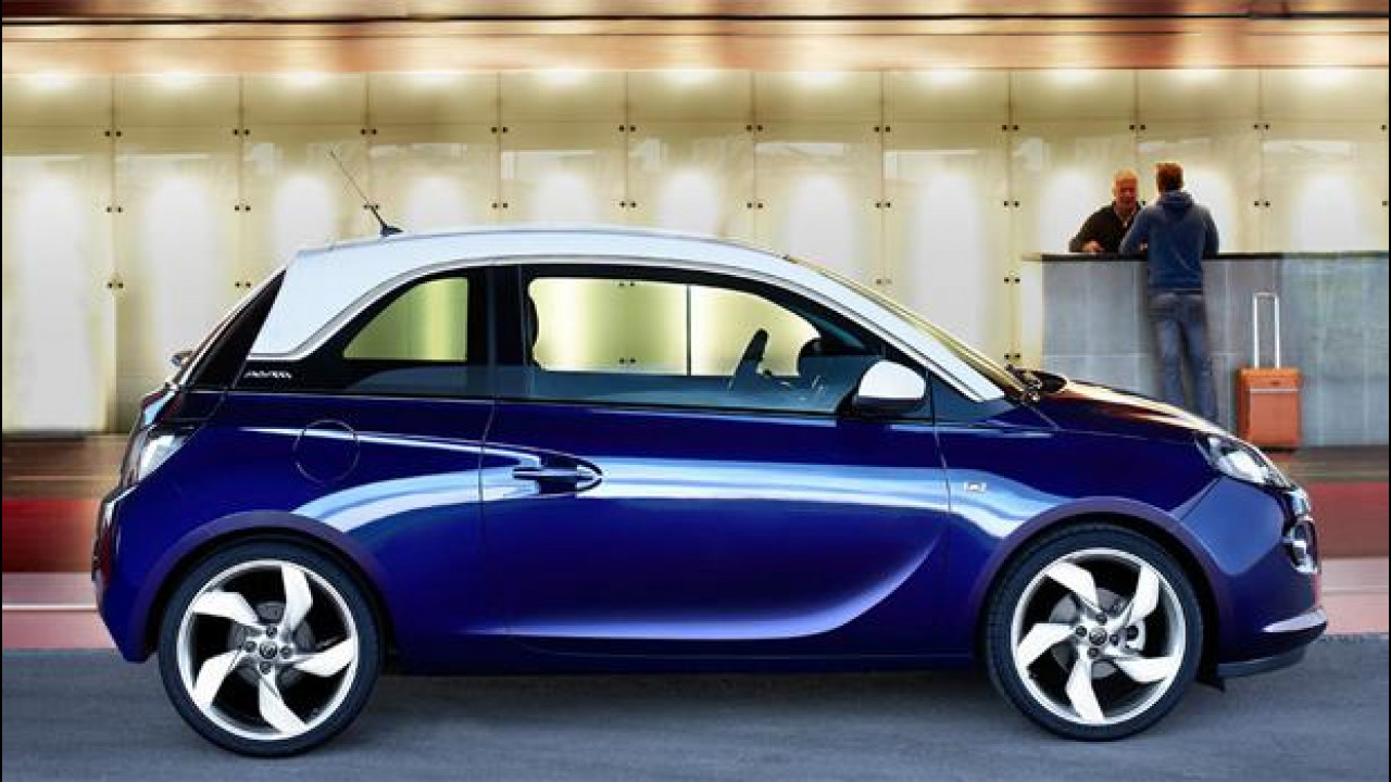 [Copertina] - Opel Adam, prezzi da 11.750 a 15.250 euro