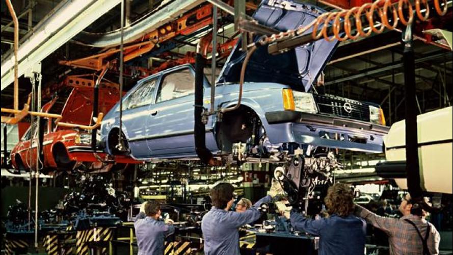 Opel, a Bochum stop alla produzione di auto dal 2016