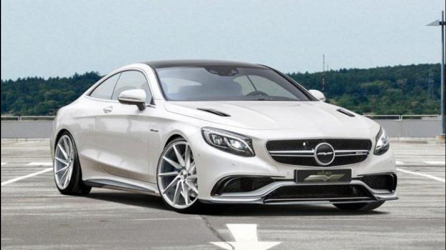 "Mercedes-Benz S63 AMG Coupé, il ""mostro"" di Voltage Design"