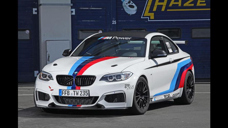 BMW M235i RS, oltre al carbonio c'è di più
