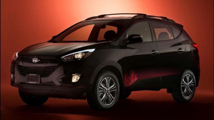 Hyundai Tucson, l'auto anti-Zombie