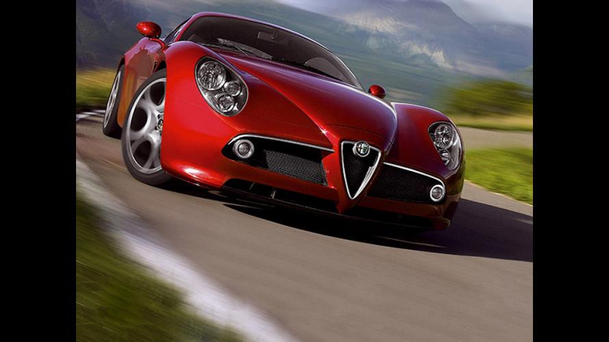 """La prima Alfa 8C """"americana"""""""