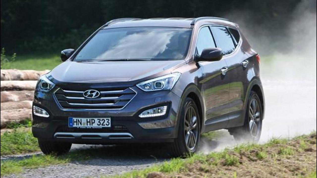 [Copertina] - Nuova Hyundai Santa Fe, ix35 al quadrato