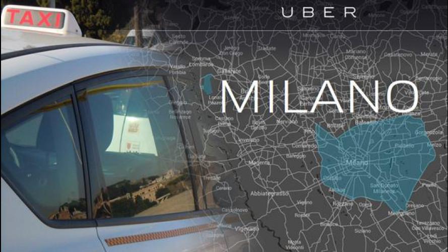 """I sindacati ad Uber: """"Allargate il servizio ai tassisti"""""""