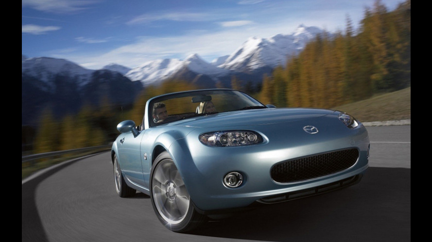 In UK arriva la Mazda MX-5 Niseko Edition