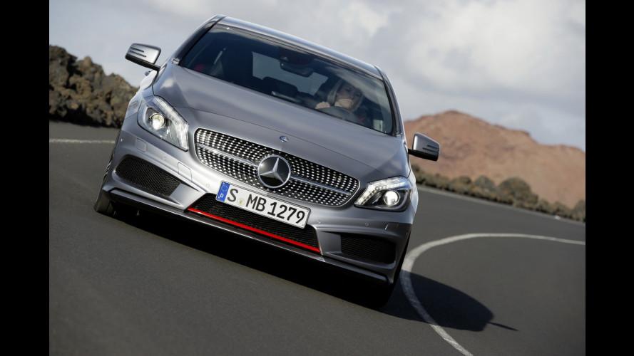 Mercedes Classe A promossa con il concorso BeADriver
