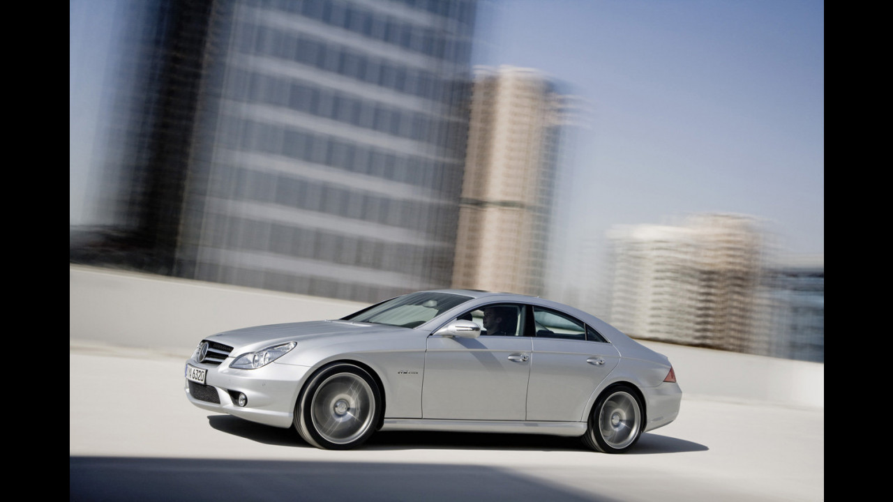 Mercedes CLS AMG restyling