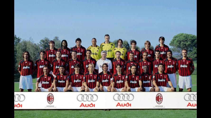 Anche quest'anno il Milan viaggia in Audi!