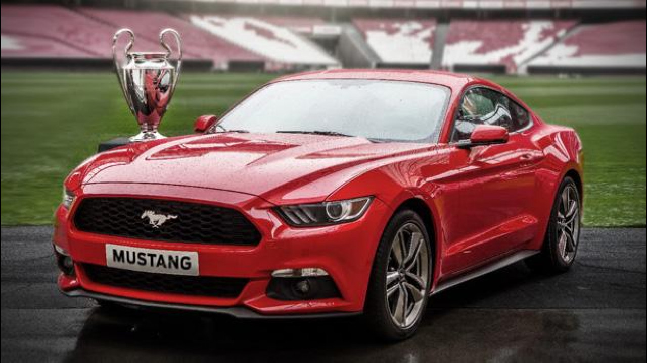 [Copertina] - Ford Mustang, in vendita durante la finale di Champions