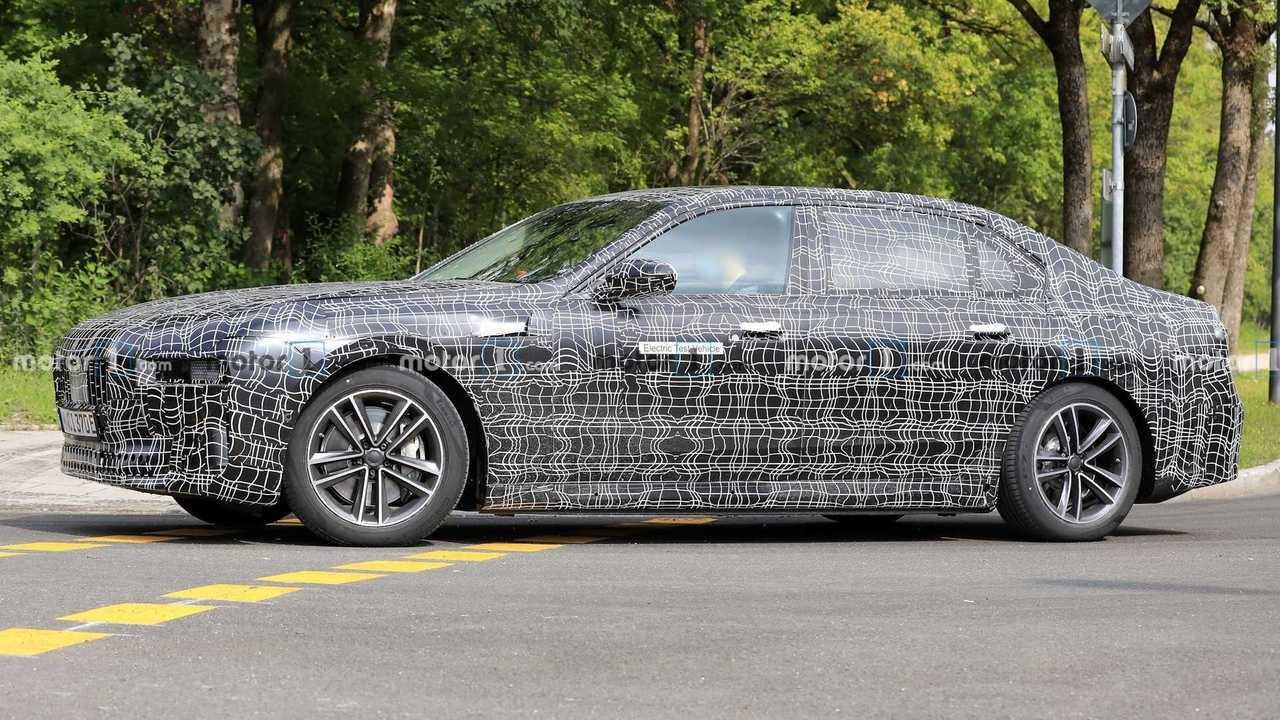 BMW i7, Google Fotos