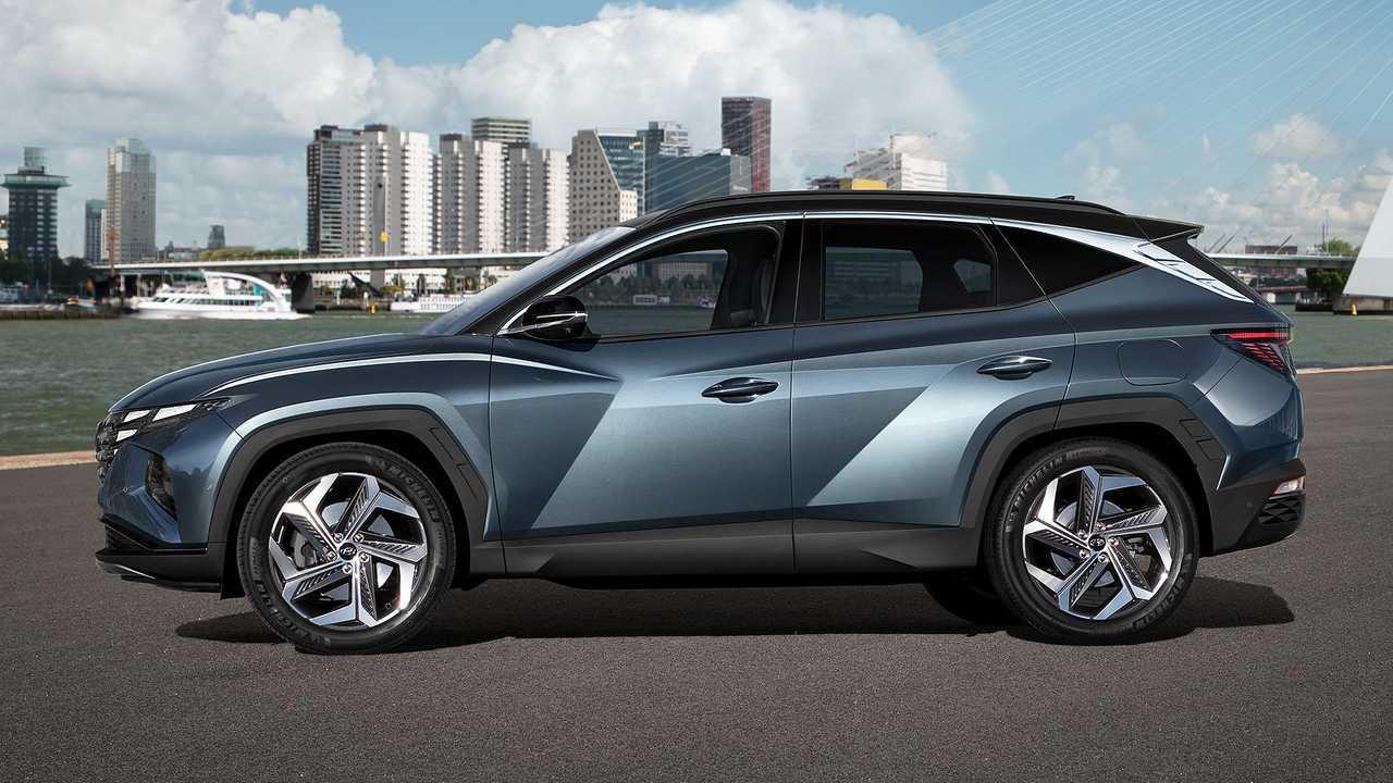 Hyundai Tucson (2020), экстерьер