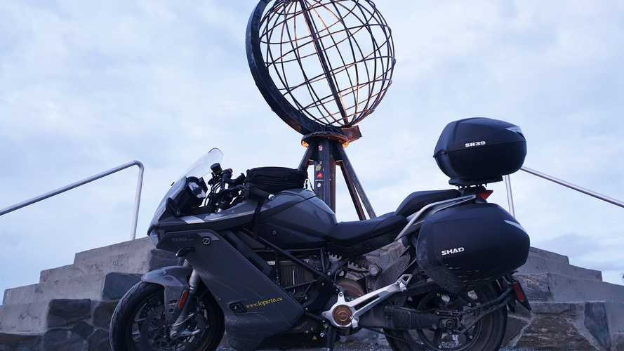 Zero SR/S Is First Electric Bike To Reach Northern Tip Of Europe
