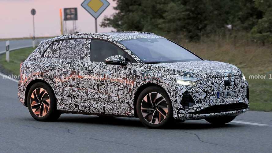 Audi Q4 E-Tron'un testleri devam ediyor