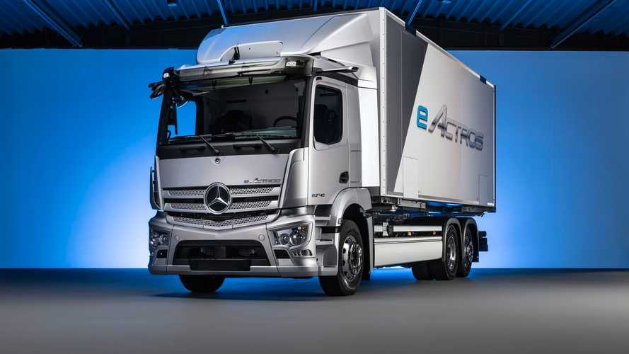 Mercedes-Benz Readying Wörth Plant To Produce eActros From 2021