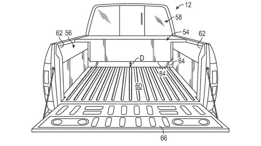 Ford F-150 Electric leaked patent images