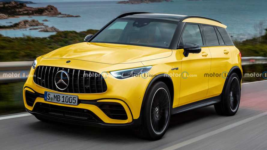 Rumoured AMG-dedicated SUV gets unofficial rendering