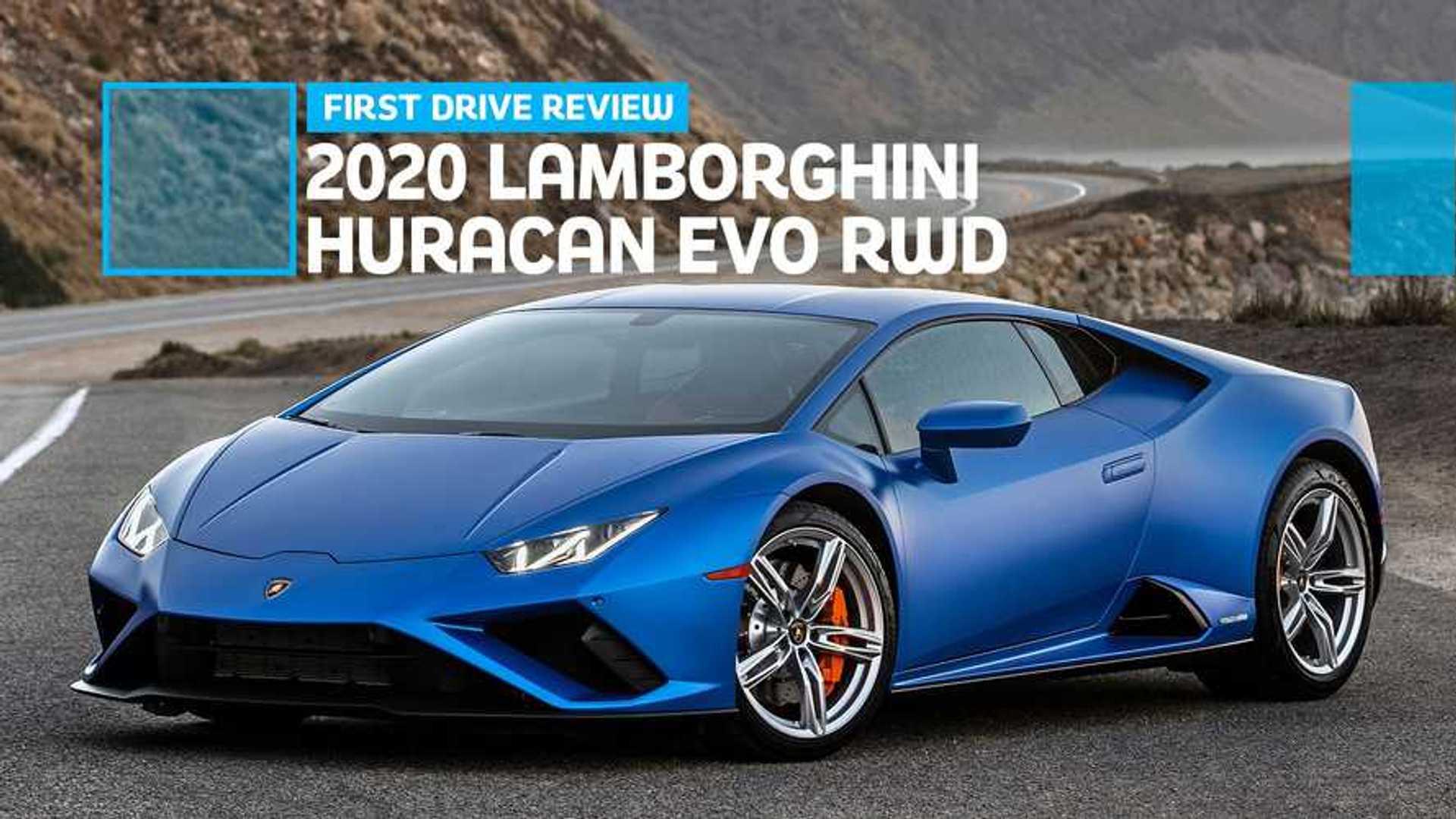 2020 Lamborghini Huracan Evo RWD First Drive Review: One Step Back, Two Steps Forward