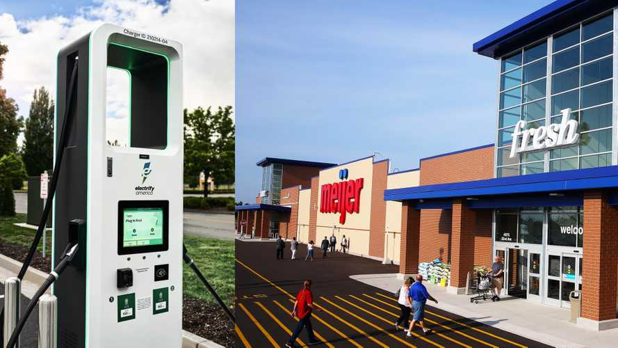 Electrify America Charging Station Installations at Meijer Locations