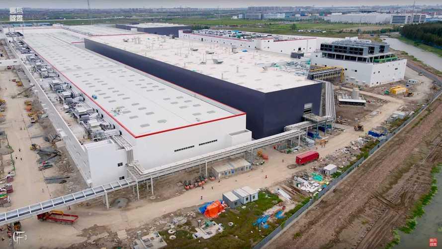 Tesla Giga Shanghai Construction Progress October 7, 2020: Video