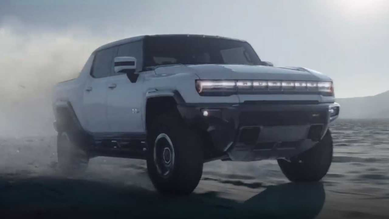GMC Hummer Electric Pickup Truck Video Reveal
