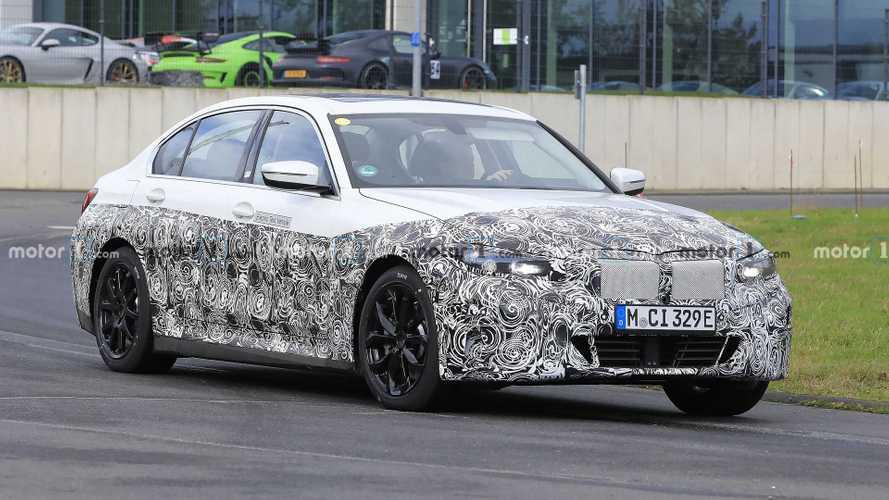 Elektrikli BMW 3 Serisi modelleri test esnasında yakalandı