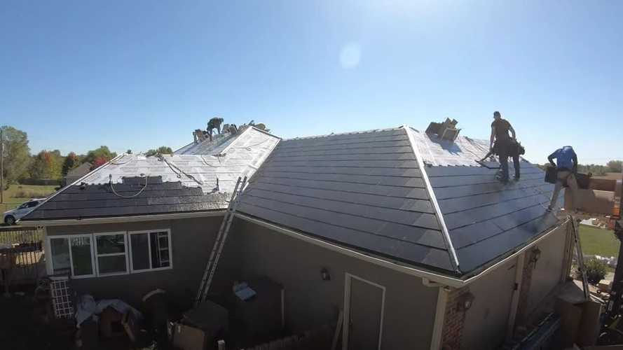 Watch This Amazing Time-Lapse Tesla Solar Roof Installation