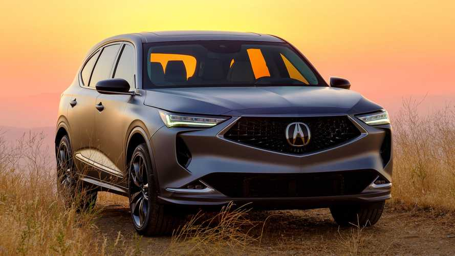 Acura MDX Prototype Revealed, Previews Sharper SUV And Type S