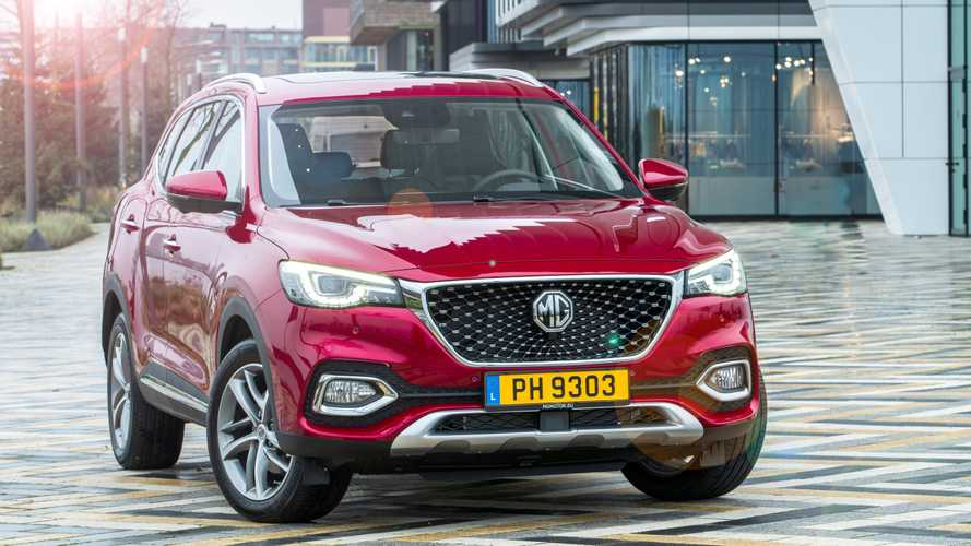 MG EHS: ¿comprarías este SUV híbrido enchufable, procedente de China?
