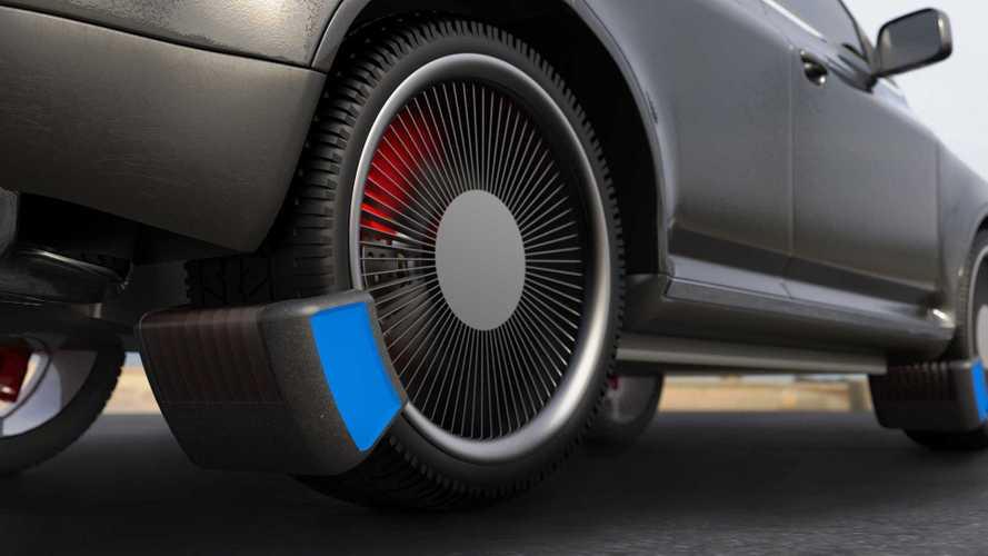 Des étudiants ont développé un système pour capturer les particules émises par les pneus