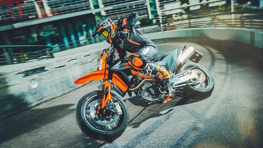 KTM Bestows Minor Updates On 690 Enduro R and 690 SMC R For 2021
