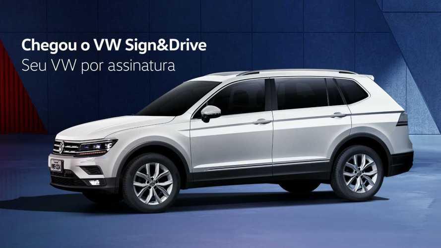Volkswagen lança programa de carro por assinatura Sign&Drive no Brasil