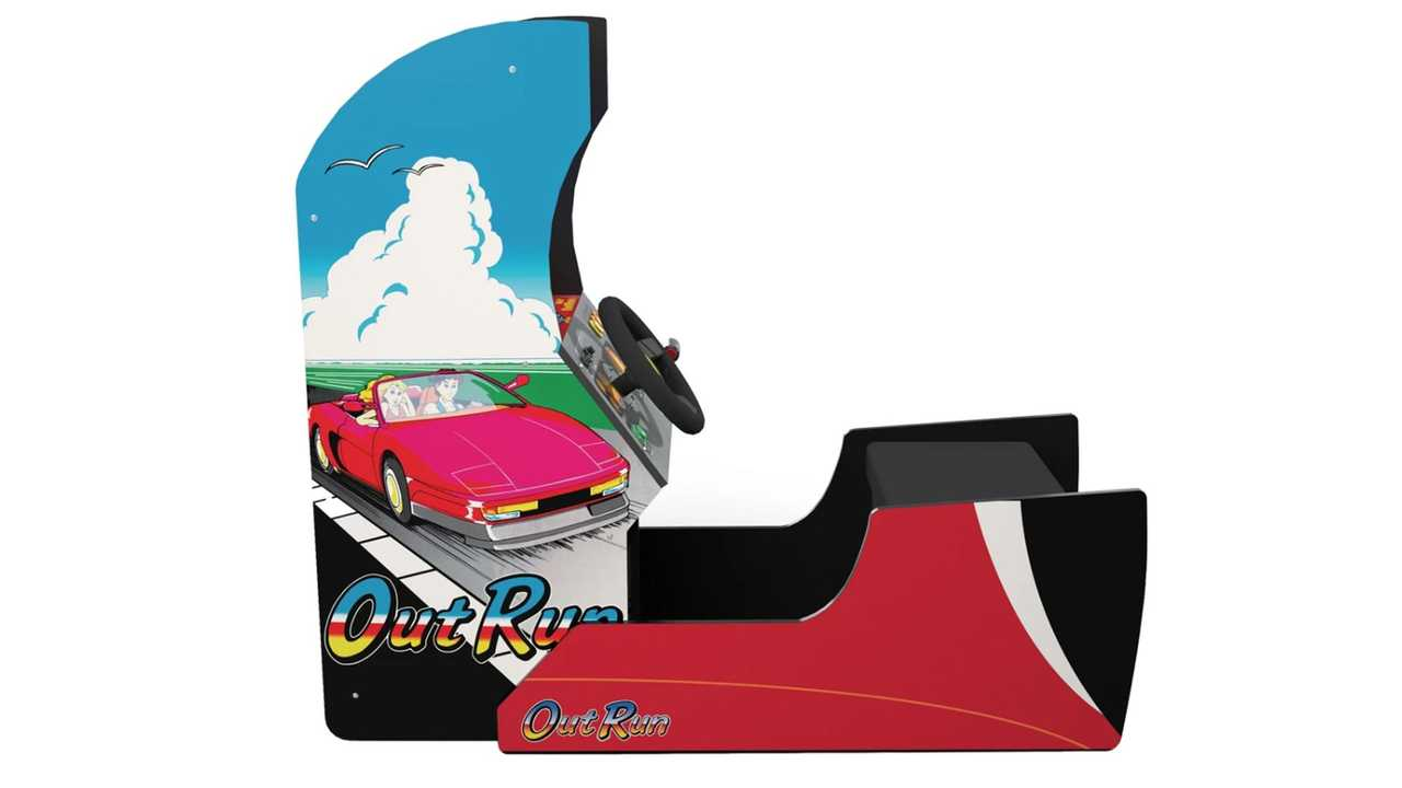 Retro Outrun Sit Down Arcade Cabinet Is A 499 80s Time Machine